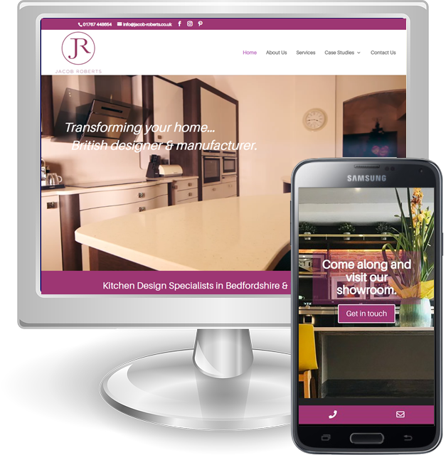 Affordable web design services in Hertfordshire