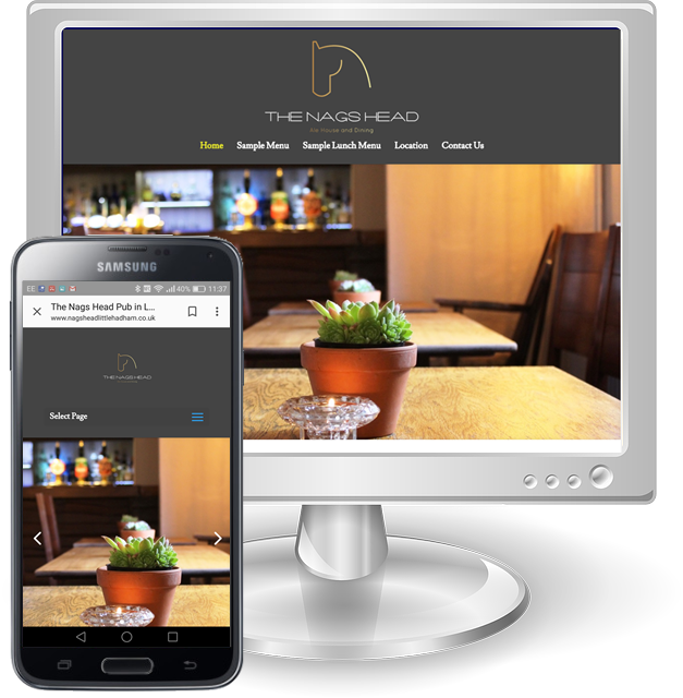 Web Design Services for Pubs in Hertfordshire