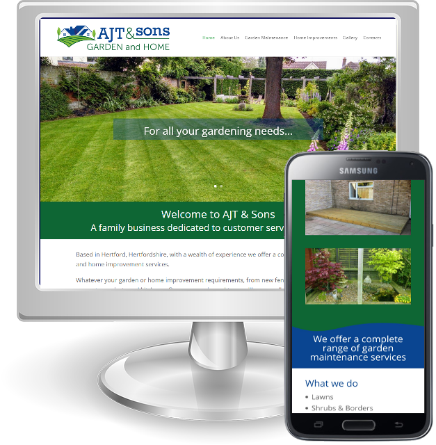 Websites for gardeners in Hertfordshire
