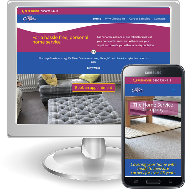 Websites for carpet fitters in Hertfordshire