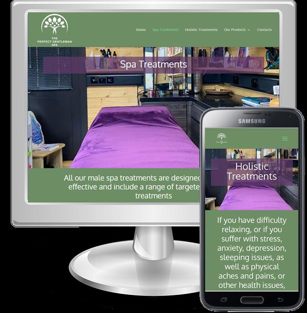 Websites for health spas in Hertfordshire