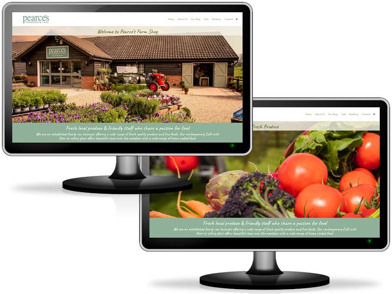 Websites for farm shops in Hertfordshire